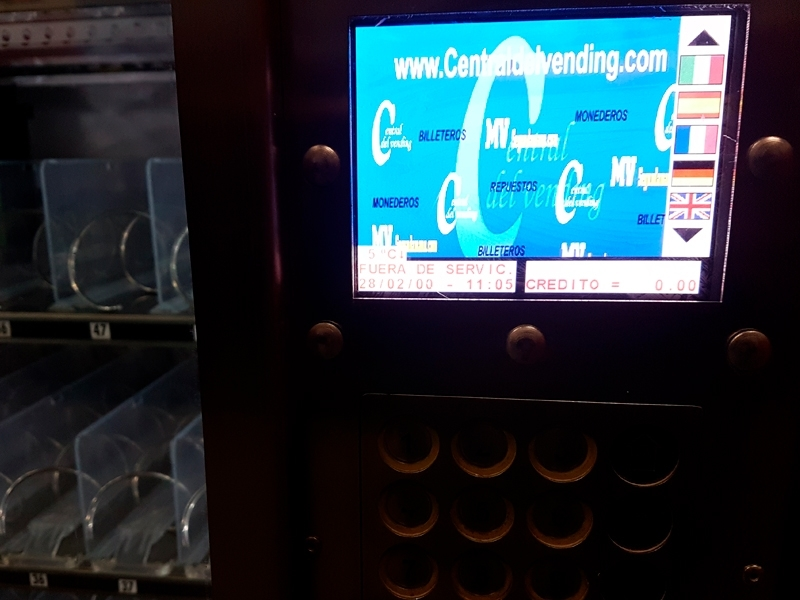 Central del Vending. Máquinas de Vending 2