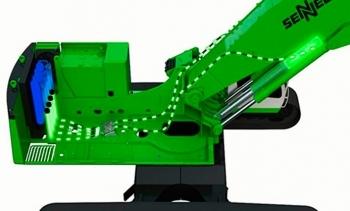 El sistema Green Hybrid de Sennebogen ahorra un 30% de energía