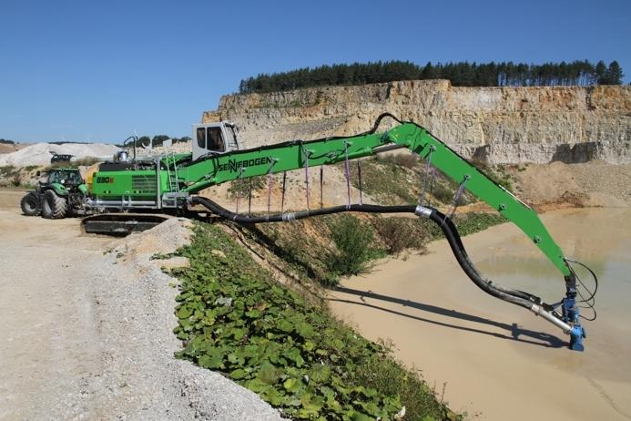 Hacia el aprovechamiento total de residuos con una excavadora de aspiración