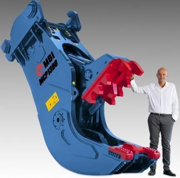 El triturador MCP1300, el nuevo gigante fabricado por Mantovanibenne.