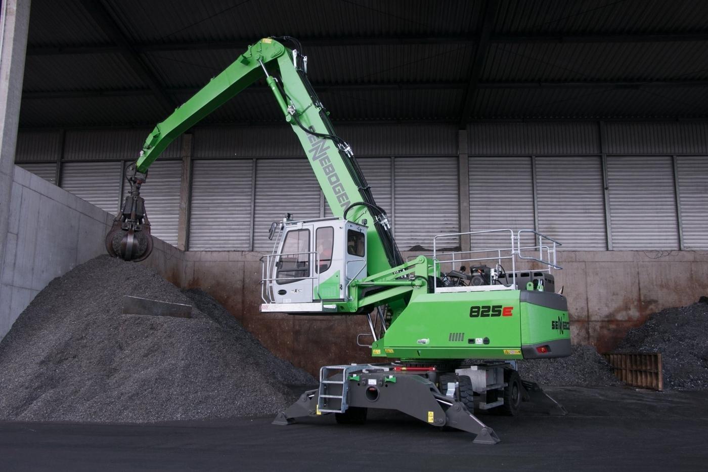 Sennebogen 825E: el nuevo modelo integral en reciclaje