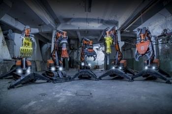 Historia del éxito de los robots de demolición Husqvarna