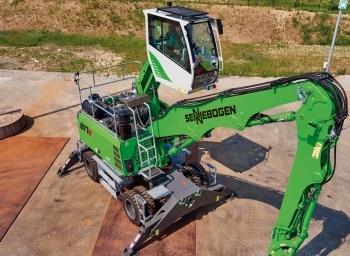SENNEBOGEN 817 E: nuevo modelo para el reciclaje
