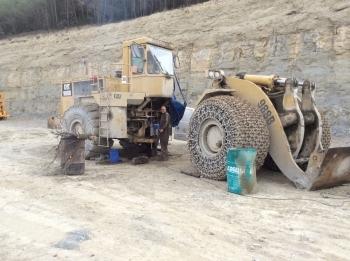 Mandrinaje CAT 988B de por vida en Canteras Valsan