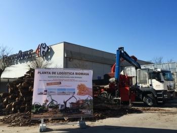 Asistimos con optimismo a la feria de biomasa forestal de Vic