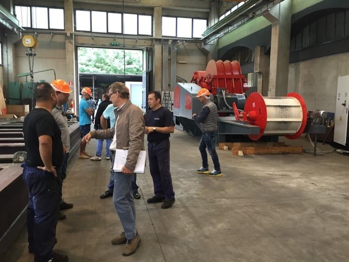 Llevamos a nuestros clientes a visitar la fábrica de Taurus