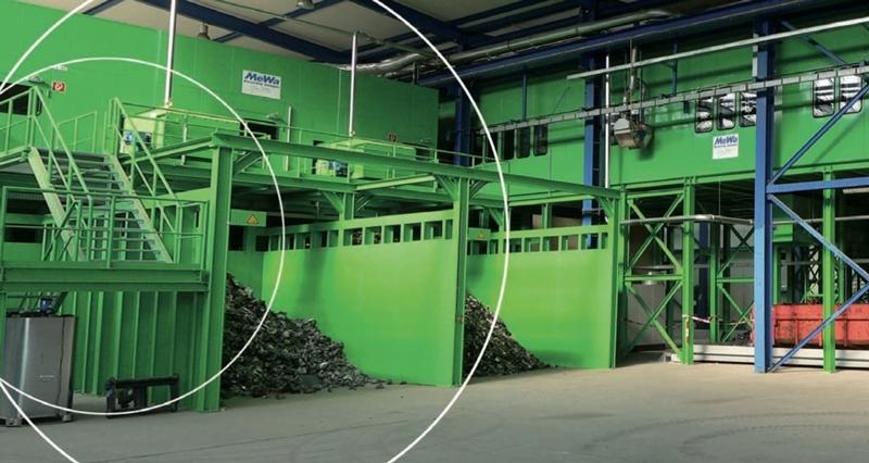 La tecnología de reciclaje MeWa reduce costes