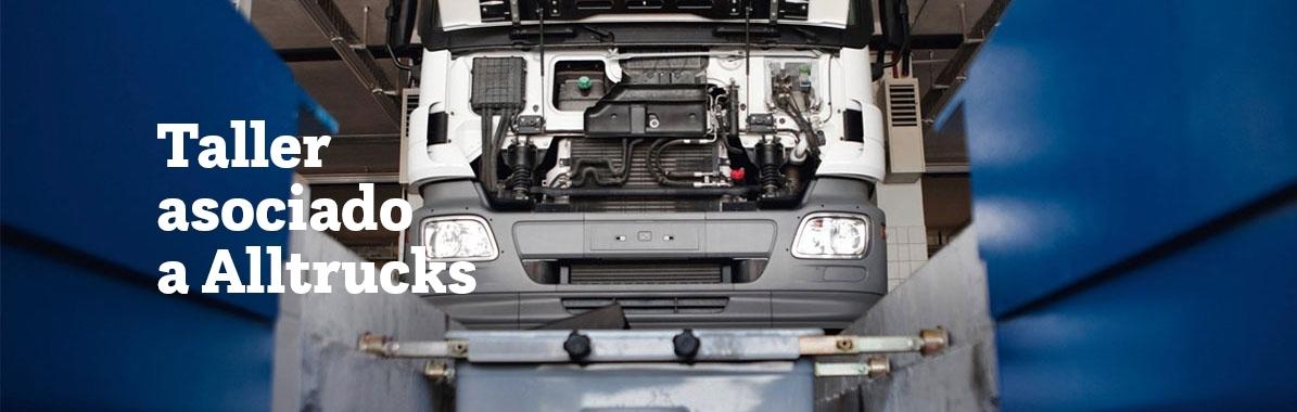 Taller de reparación y mantenimiento de camiones Alltrucks