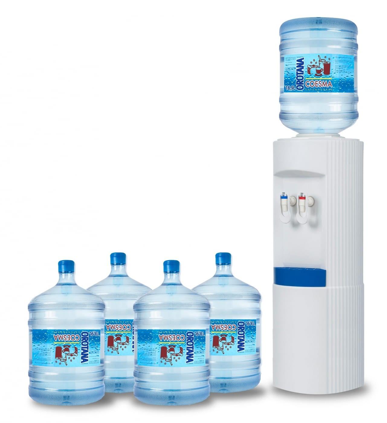 Reparto agua a domicilio