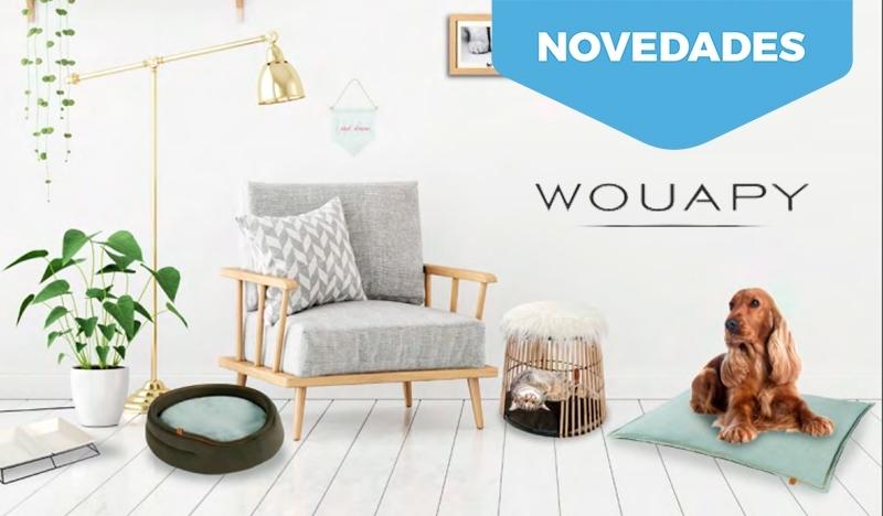 Surtido de camas para perros y gatos. Nueva colección Wouapy.
