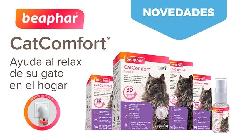 Beaphar CatComfort. Gatos felices y relajados.