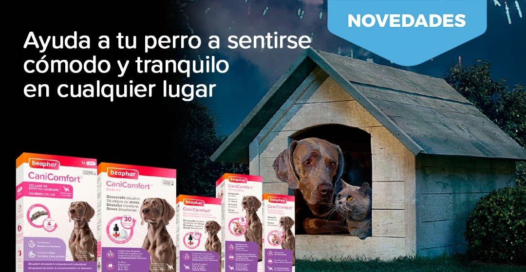 Nueva gama de productos anti-estrés para perros Beaphar CaniComfort