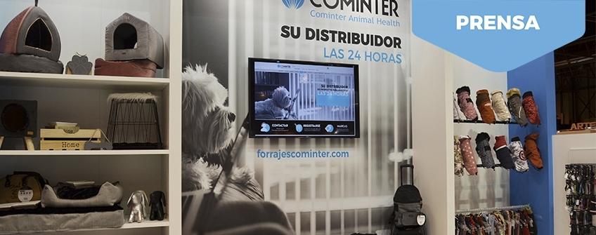 Stand Cominter en Iberzoo + Propet 2018. Madrid.