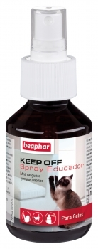 KEEP OFF SPRAY EDUCADOR PARA GATOS