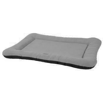 CAMA BASIC MATTRESS BORDURE SUEDE GRIS