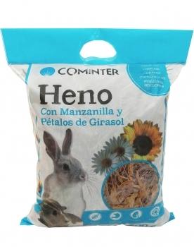 HENO MANZANILLA PETALO GIRASOL 500G
