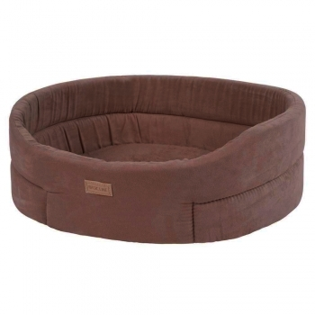 CAMA BASIC BASKET SUEDE MARRON