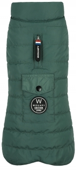 ABRIGO BASIC DOWN JACKET VERDE