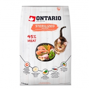 ONTARIO CAT STERILISED SALMON - 2