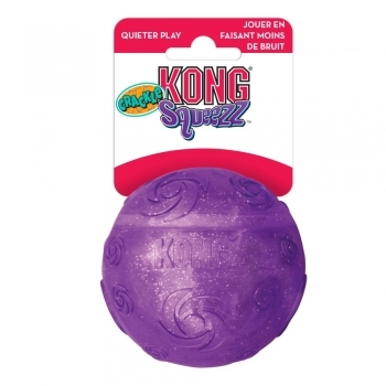 KONG SQUEEZZ CRACKLE BALL - 1