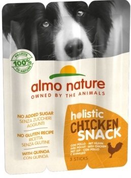DOG HOLISTIC SNACK POLLO