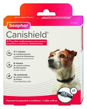 COLLAR CANISHIELD PERRO 48CM