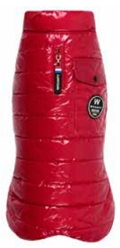 ABRIGO BASIC DOWN JACKET ROJO