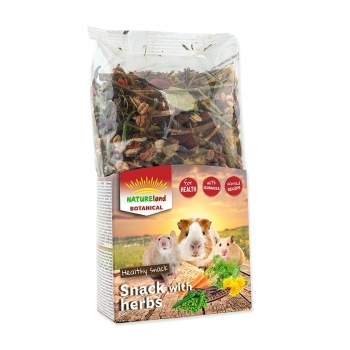 NATURELAND BOTANICAL SNACK PLANTAS  MIX