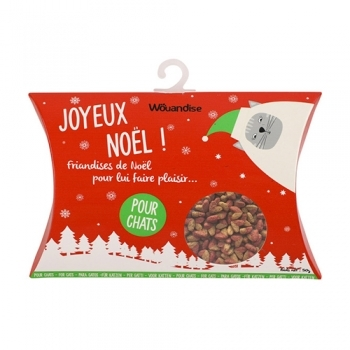 CHRISTMAS POUCH CAT SNACKS 50G