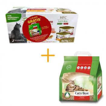 ¡OFERTA! MULTIPACK ALMO NATURE + CAT'S BEST 2,1kg GRATIS
