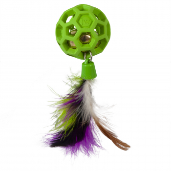JW CATACTION FEATHER BALL WITH BELL - 1