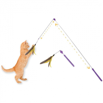 JACKSON GALAXY JG AIR WAND WITH TOY - 3
