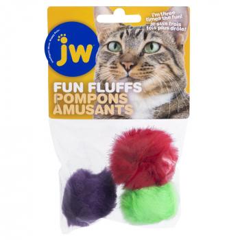 JW CAT FUN FLUFFS