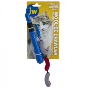 JW CAT TELESCOPIC WOOL-EE CRAWLER  WAND