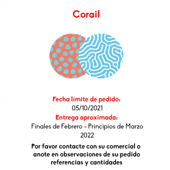 ROUND PADDED CORAIL - 1