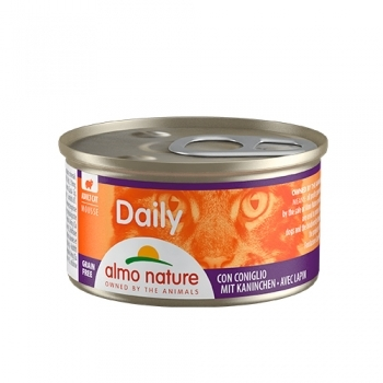 CAT WET DAILY GRAIN FREE MOUSE 85G - 8