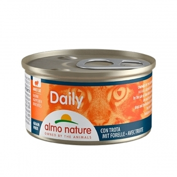 CAT WET DAILY GRAIN FREE TROCITOS 85G - 1