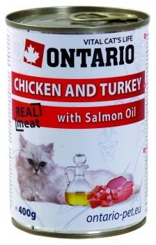 ONTARIO CAT KONZ CHICKEN, TURKEY, SALMON OIL
