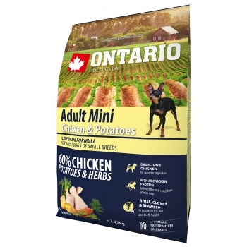 ONTARIO ADULT MINI CHICKEN & POTATOES