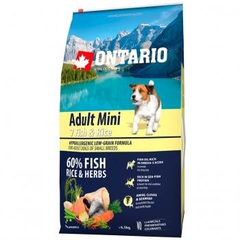 ONTARIO ADULT MINI 7 FISH & RICE - 2