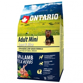 ONTARIO ADULT MINI LAMB & RICE