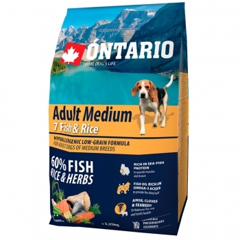 ONTARIO ADULT MEDIUM 7 FISH & RICE