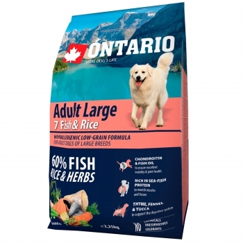 ONTARIO ADULT LARGE 7 FISH & RICE