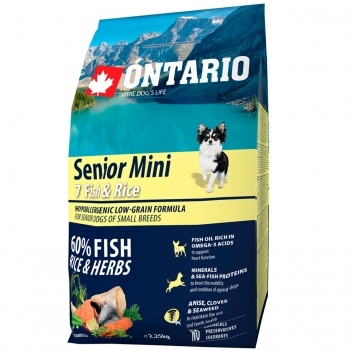 ONTARIO SENIOR MINI 7 FISH & RICE