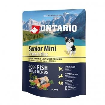 ONTARIO SENIOR MINI 7 FISH & RICE - 1