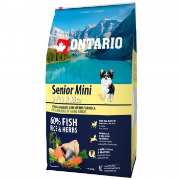 ONTARIO SENIOR MINI 7 FISH & RICE - 2