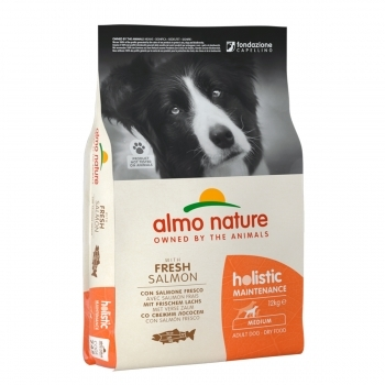 DOG DRY HOLIST ADULT MEDIUM SALMON Y ARROZ - 2