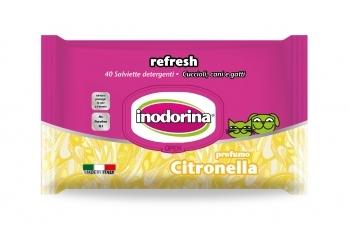 INODORINA TOALLITAS REFRESH CITRONELLA 40 UNID.
