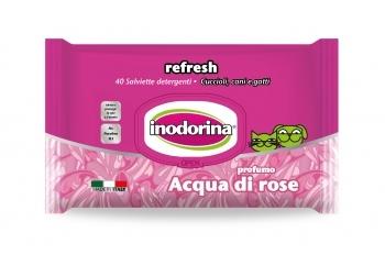 INODORINA TOALLITAS REFRESH ACQUA DI ROSA 40 UNID.