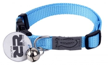 COLLAR GATO BASIC LINE AZUL